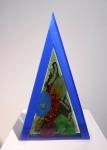Eliáš Bohumil-BLUE TRIGON-28x7x46cm