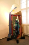 Eliáš Bohumil-STELA-110x33x205cm