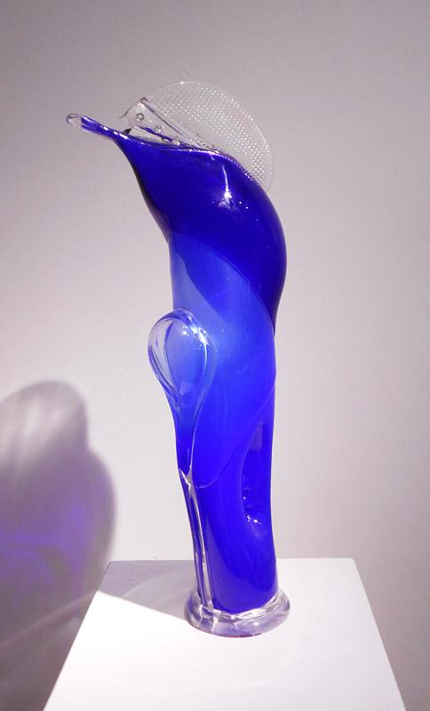 uhájek Jiří-BLUE DOLPHIN-30x18x69cm