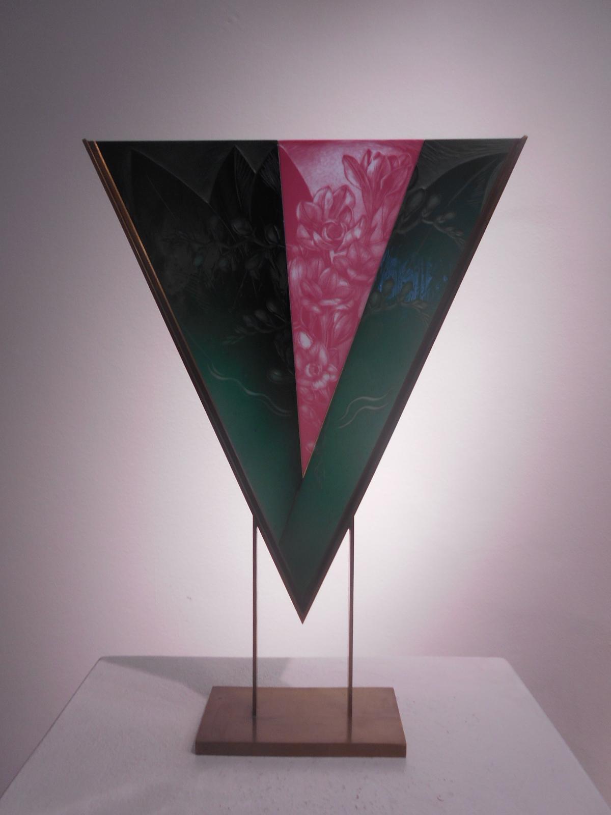 Votrubová Jaroslava-FLOWER-33x45,5x9cm