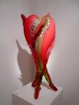 Glaserova Ingrid - HEART-39x32x82cm